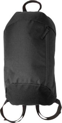 Rucksack EASY, 210D Polyester, Schultergurte gepolstert & stufenlos verstellbar, Werbedruck 100 x 130 mm, schwarz