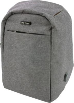 "Rucksack ""Safepack"", Polyester, aufklappbar, integr. USB-Ladeport, B310xT150xH450 mm"