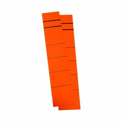 Rückenschild, Rückenbreite 39 mm, selbstklebend, 10 Stück, rot