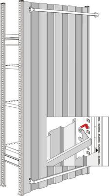 Rückwände, für Feldbreite 995 mm, H 2967 mm