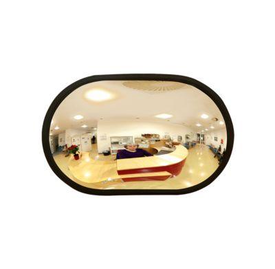 Ruimtespiegel, ovaal, 2 kg, 520 x 320 x 85 mm, ovaal, 2 kg, 520 x 320 x 85 mm