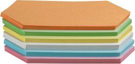 Ruitvormig, 95 x 205 mm, div. kleuren, 250 st.