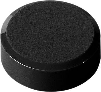 Rundmagnete, ø 32 x 5 mm, schwarz, 20 Stück