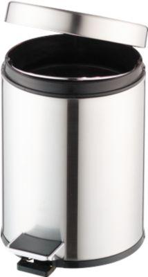 RVS pedaalemmer 3L, Ø 200 x H 280 mm, 3 liter