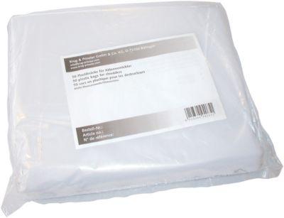Sacs en plastique jetables pour destructeur de documents EBA 3140 S/C, 50 pièces