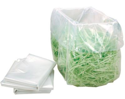 Sacs poubelle plastique pour destructeur de documents, 100/116 litres