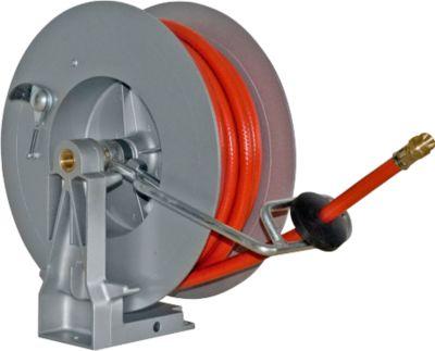 Safety Control, für Schlauchaufroller Druckluft, Länge 10 Meter, gefahrloses Aufrollen
