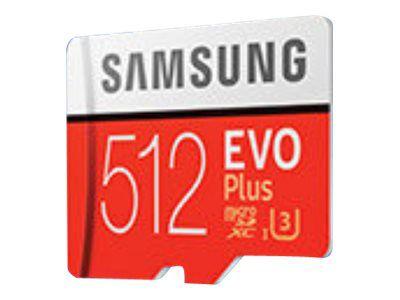 Samsung EVO Plus MB-MC512GA - Flash-Speicherkarte - 512 GB - microSDXC UHS-I