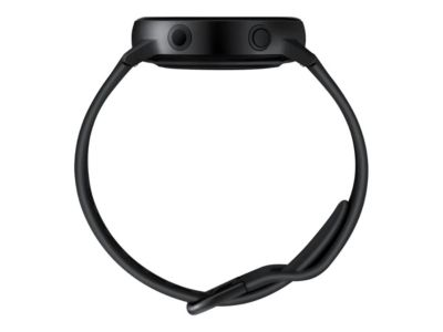 Samsung Galaxy Watch Active - schwarz - intelligente Uhr mit Band - 4 GB