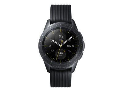 Samsung Galaxy Watch - Midnight Black - intelligente Uhr mit Band - 4 GB - nicht angegeben