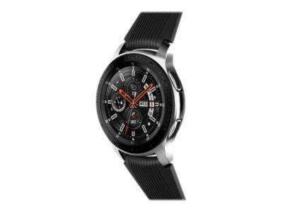 Samsung Galaxy Watch - silber - intelligente Uhr mit Band - 4 GB