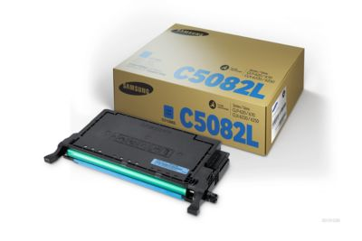 Samsung toner Samsung CLTC5082LELS|C5082L Toner-Kit cyaan, 4.000 pagina's/5% voor CLP 620/620 ND/670/6...