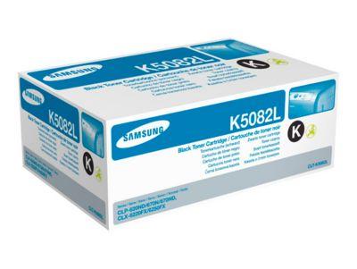 Samsung toner Samsung CLTK5082LELS|K5082L Toner-Kit zwart, 5.000 pagina's/5% voor CLP 620/620 ND/670/6...