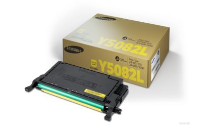 Samsung toner Samsung CLTY5082LELS|Y5082L Toner-Kit geel, 4.000 pagina's/5% voor CLP 620/620 ND/670/67...