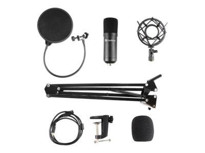 Sandberg Streamer USB Microphone Kit - Mikrofon