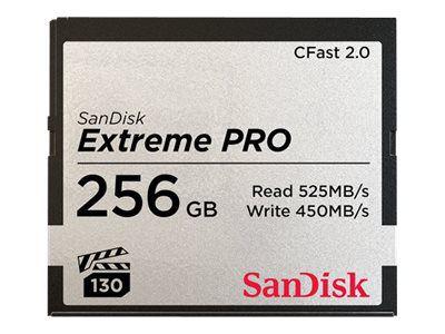SanDisk Extreme Pro - Flash-Speicherkarte - 256 GB - CFast 2.0