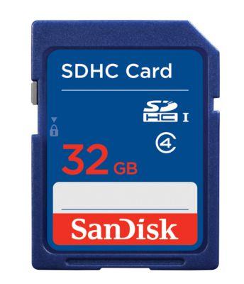 SanDisk SDHC, SDSDB-032G-B35 Memory Card, 32 GB