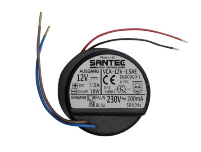 Santec Einbaunetzteil VCA, Gleichspannungsnetzteil