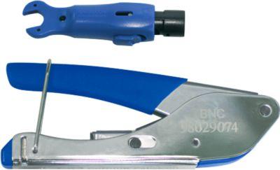 Santec Krimpgereedschapsset BN-HD-CCTV Kit, voor BN-HD-CCTV-aansluiting