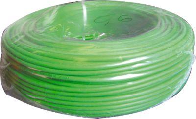 Santec video/coaxiale kabel, 100 m lang, weerstand 3,7, vermogensdoorsnede 0,6 mm.