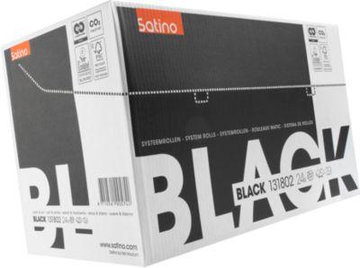 Satino Black toiletpapier, wit, pak van 24 rollen