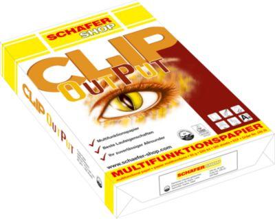 SCHÄFER SCHOP papier CLIP OutPut, A4, 80 g/m² 500 vel
