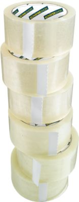 SCHÄFER SHOP CLIP verpakkingstape, transparant, 36 rollen