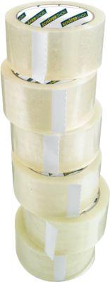 SCHÄFER SHOP CLIP verpakkingstape, transparant, 6 rollen