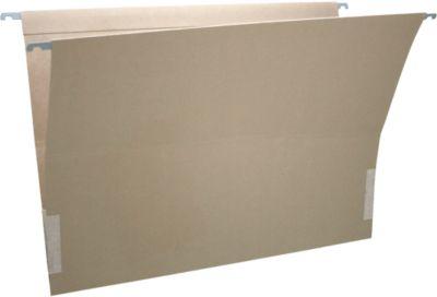 SCHÄFER SHOP Hängemappen, DIN-A3-Format, seitlich offen, mit Leinenfröschen, 25 Stück