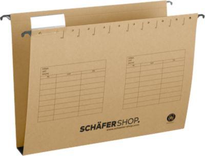 SCHÄFER SHOP Hängesammler, Öffnung seitlich, für Formate bis DIN A4, 40 mm Breit