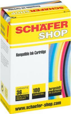 Schäfer Shop inktpatroon compatibel met LC-970Y, geel