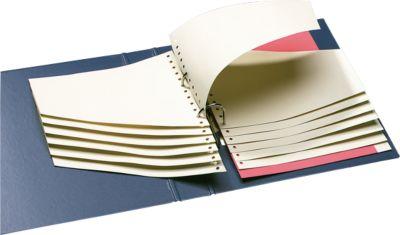 SCHÄFER SHOP Kartonnen trapsgewijze tabbladen, gems, 100 stuks