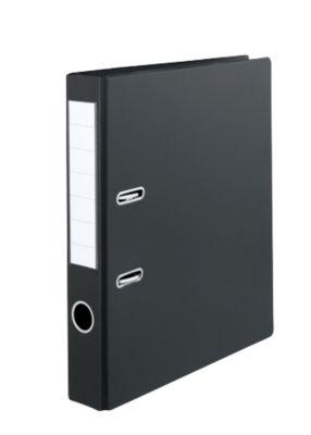 SCHÄFER SHOP Ordner PVC, DIN A4, Rückenbreite 50 mm, schwarz