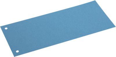 SCHÄFER SHOP Sparset Trennstreifen, aus Karton, 300 Stück, blau