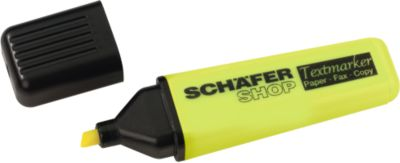 SCHÄFER SHOP Textmarker, gelb, 1 Stück