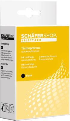 Schäfer Shop Tintenpatrone baugleich mit CLI-521 BK, schwarz
