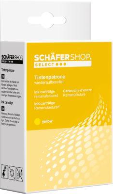 Schäfer Shop Tintenpatrone baugleich mit CLI-521 Y, gelb