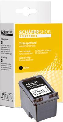 Schäfer Shop Tintenpatrone Nr. 302XL baugleich mit F6U68AE, schwarz
