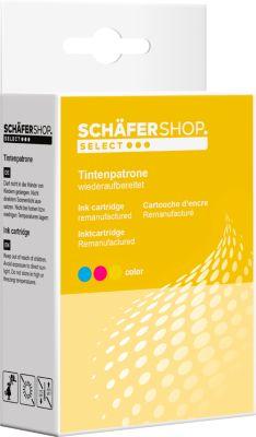 Schäfer Shop Tintenpatrone Nr. 344 baugleich mit HP C9363 EE, color
