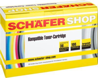 Schäfer Shop Toner baugleich Q6470A, schwarz