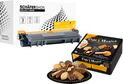 Schäfer Shop Toner baugleich TN-2310/-2320, schwarz + Griesson Cafe Musica GRATIS