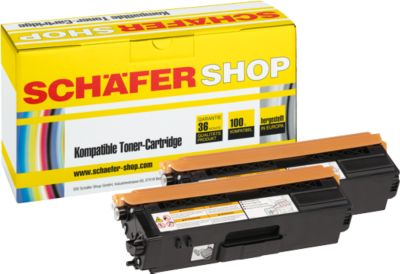 Schäfer Shop Toner-Sparset baugleich TN-325BK, schwarz