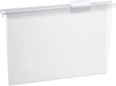 SCHÄFER SHOP transparante hangmappen voor laden, PP, 15 stuks