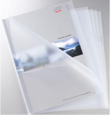 SCHÄFER SHOP transparante Klemrughoezen PP, 25 stuks, transparant
