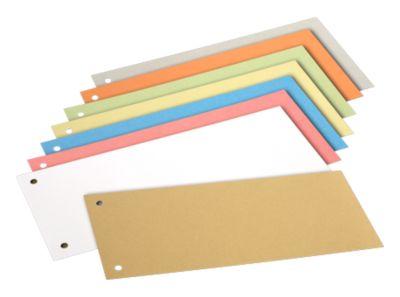 SCHÄFER SHOP Trennstreifen, Karton, farbsortiert, 200 Stück