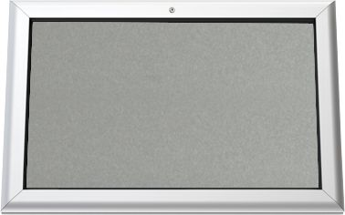 Schaukasten, Rückwand anthrazit, 800 x 545 mm