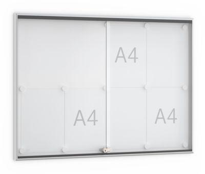 Schiebetür-Wandtafel, 920 x 674 mm