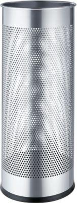 Schirmständer, silbermetallic