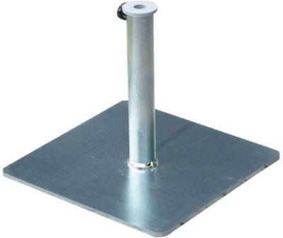 Schirmständer, Standfuß 43 x 43 cm