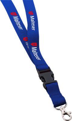 Schlüsselband Version 4, blau